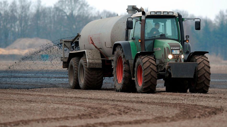 Dünger: Ein Großteil der Ammoniak-Emission stammt aus der Landwirtschaft