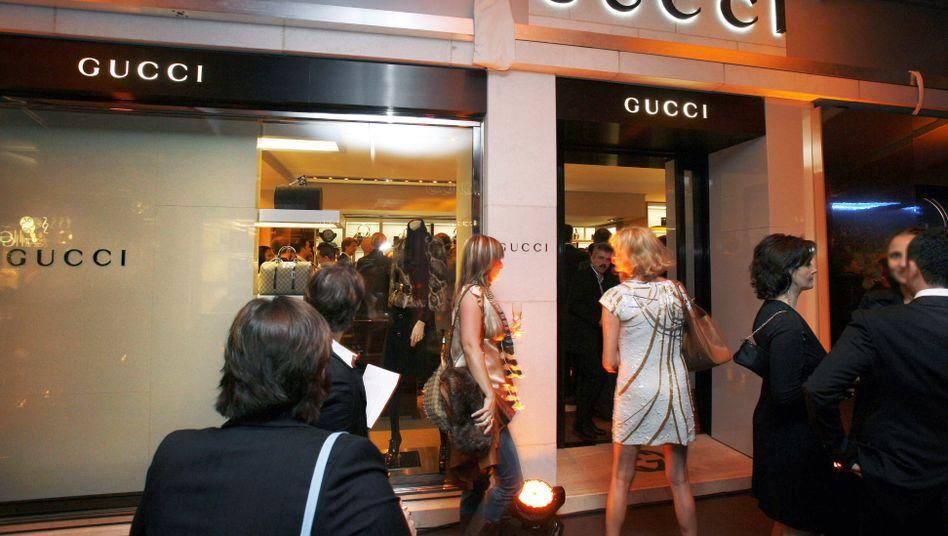 Luxus-Modehaus (Symbolbild): Wer reich ist, wird reicher