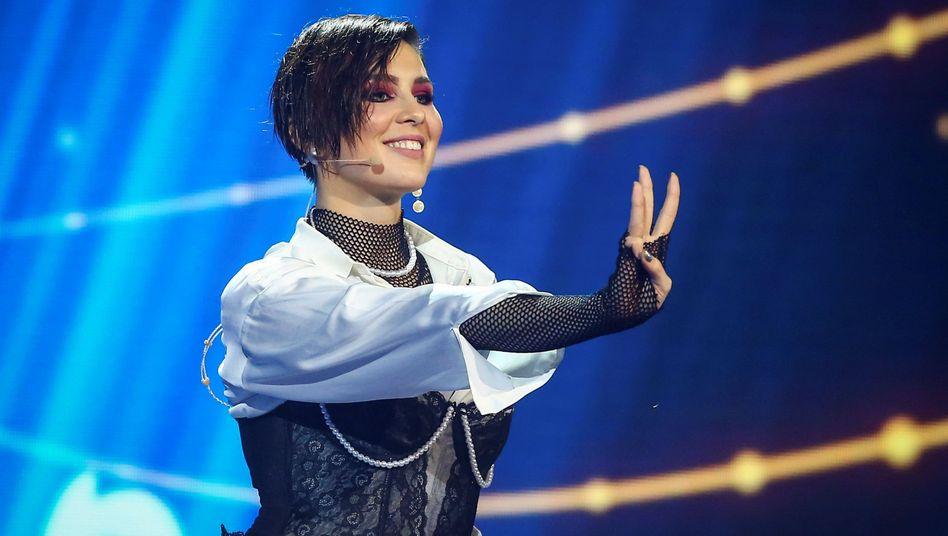 Die ukrainische Sängerin Maruv
