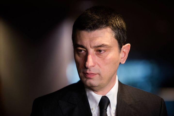 Giorgi Gakharia, georgischer Innenminister