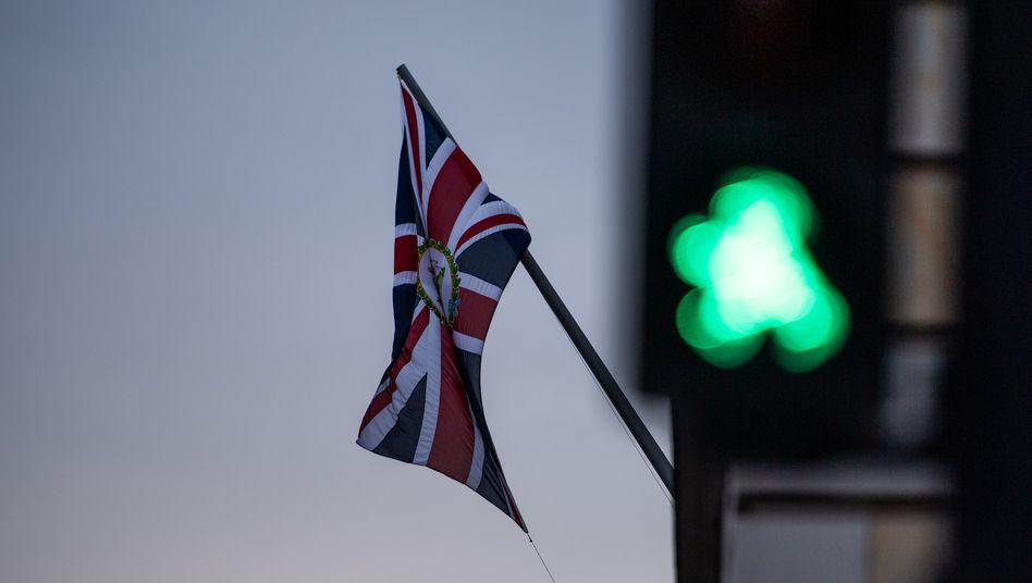 Britische Flagge (in Berlin)