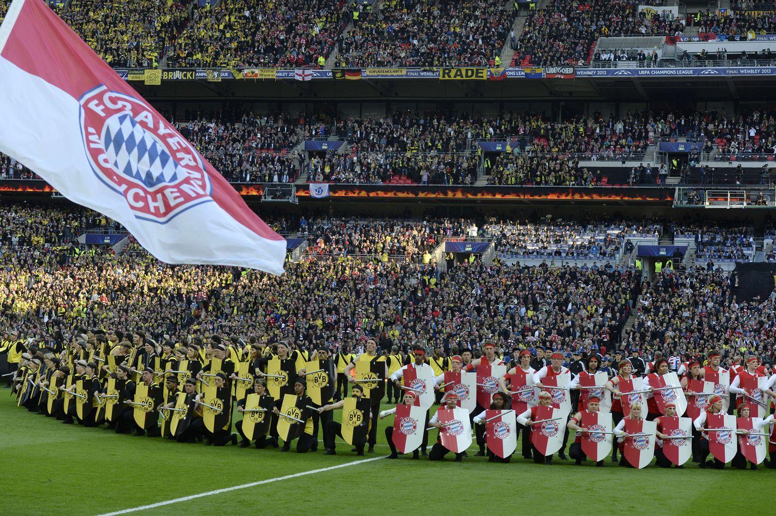 Champions League Finale Kriegerische Eroffnungszeremonie Der Spiegel