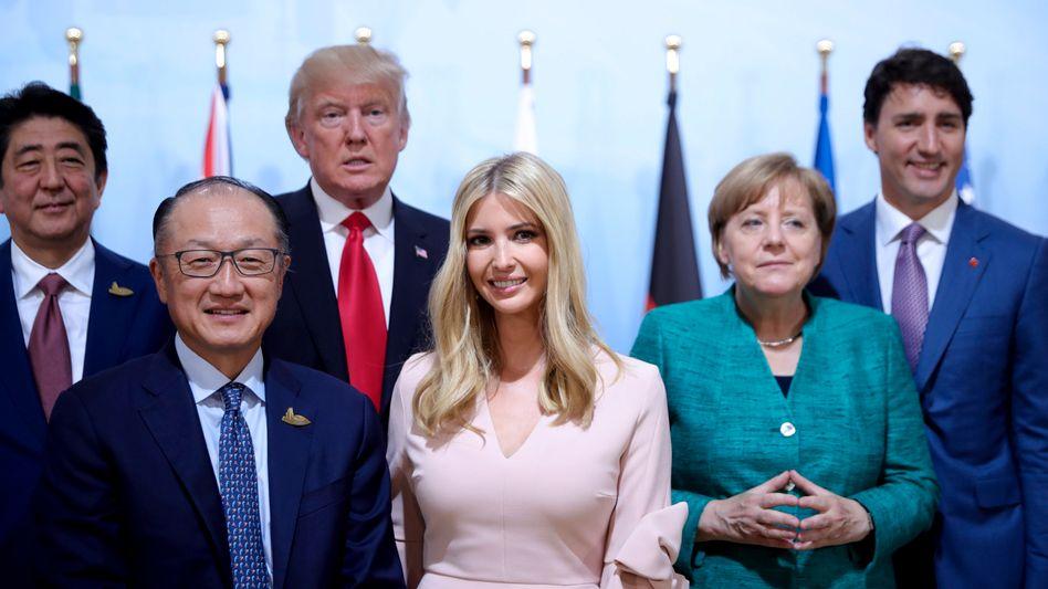 Ivanka Trump at the G-20 in Hamburg