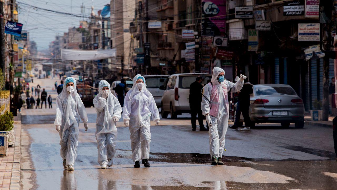 """Corna-Pandemie in Syrien: """"Wir heißen den Tod willkommen"""" - DER SPIEGEL - Politik"""