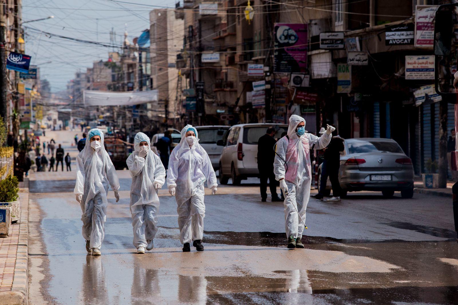 Virus Outbreak Syria