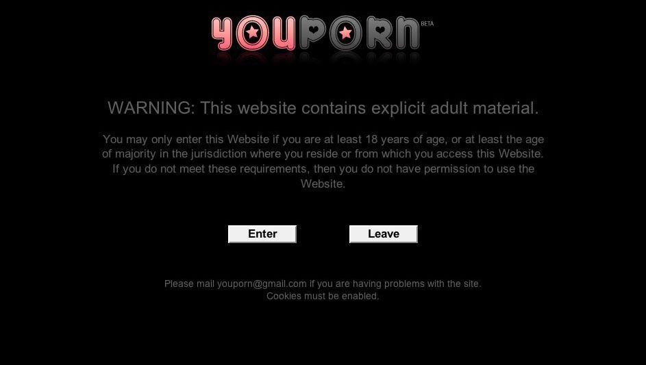 Sexfilmchen-Portal YouPorn (Screenshot): Spezialisiert auf pornografische Web-Angebote