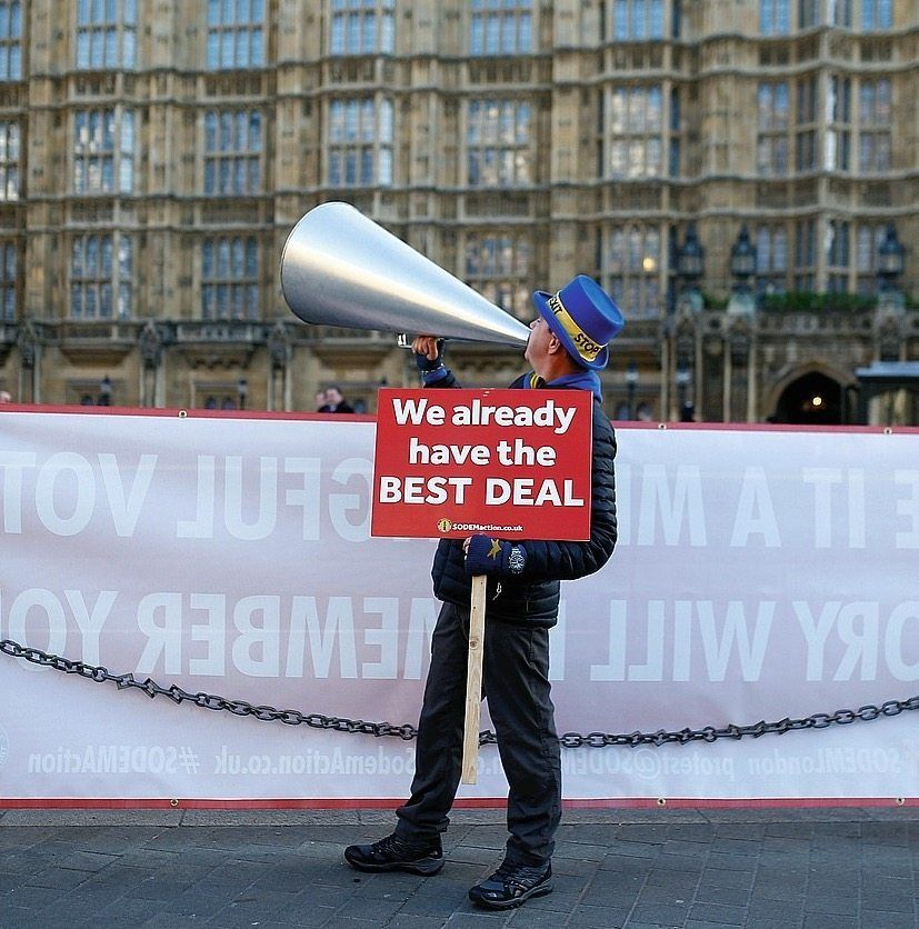 Anti-Brexit-Protestler