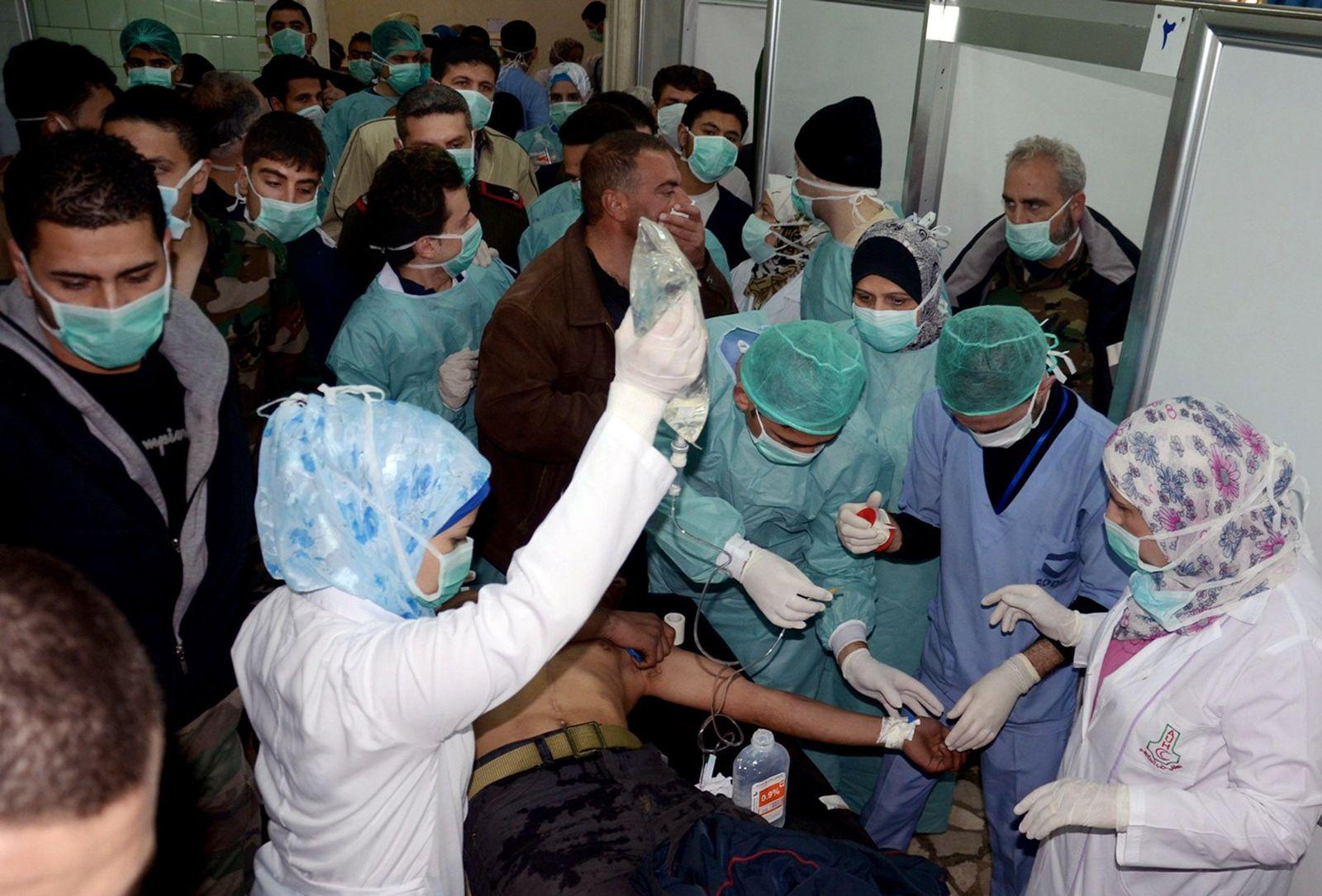Syrien / Opfer / Chemiewaffeneinsatz