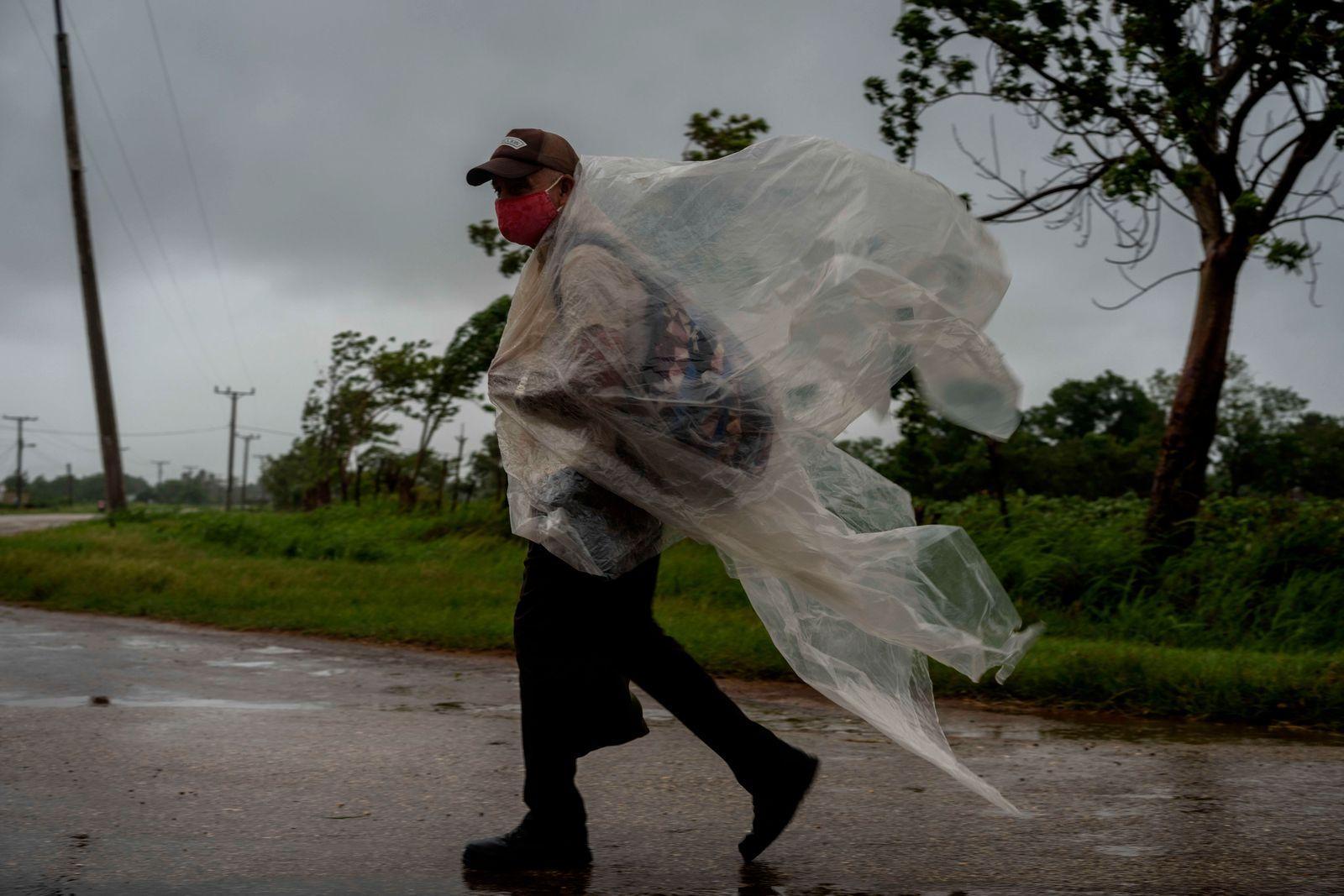 Hurrikan «Ida» zieht über Kuba hinweg