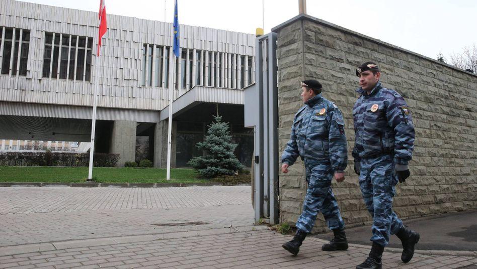 Polens Botschaft in Moskau: Diplomaten müssen das Land verlassen