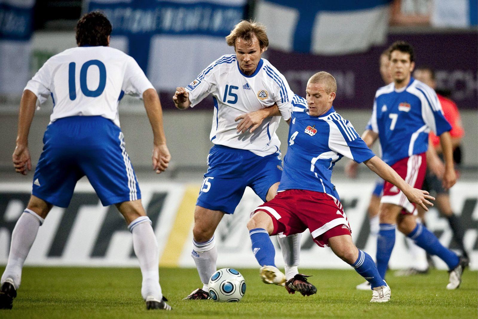 Fussball / WM-Qualifikation / Liechtenstein vs Finnland