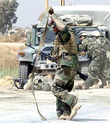US-Marines bekämpfen Heckenschützen: Angst vor politischer Sprengkraft