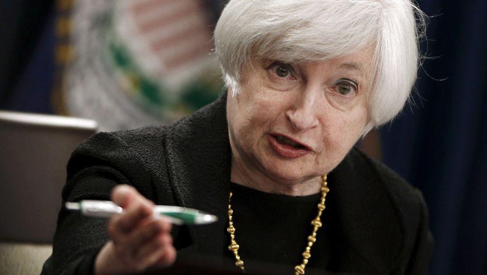 Fed-Chefin Yellen: Kommt der lang erwartete Zinsentscheid?