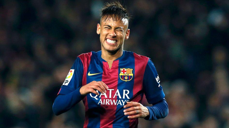 Barcelona-Spieler Neymar: (Noch) teurer als gedacht
