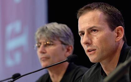 Mediziner Schmid (l.) und Heinrich: Vorwurf des systematischen Dopings