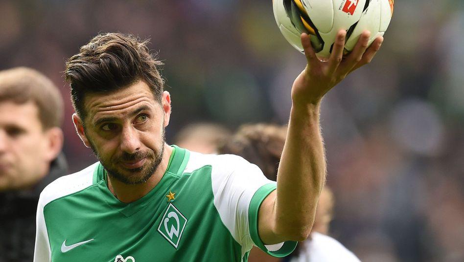 Werder-Profi Claudio Pizarro