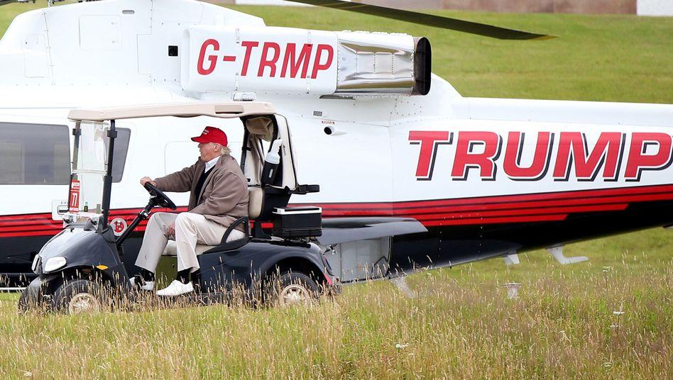 """Golfspieler Trump: """"Gefährliche Windkraftexperimente"""""""