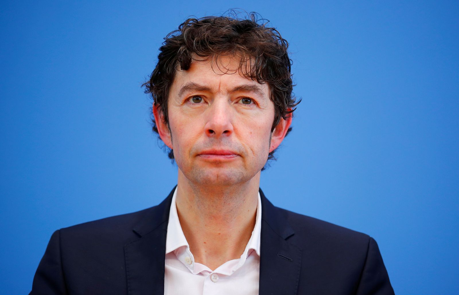 News conference to update on German coronavirus spread in Berlin