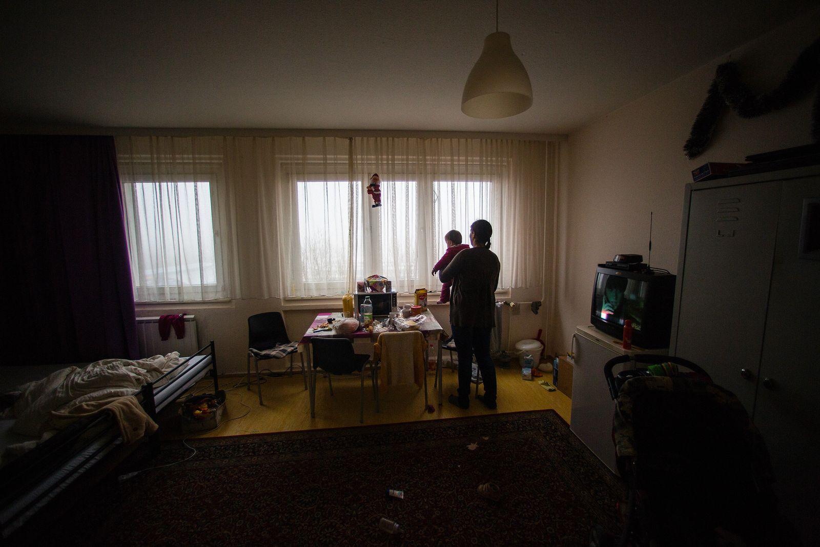 Flüchtlingswohnheim