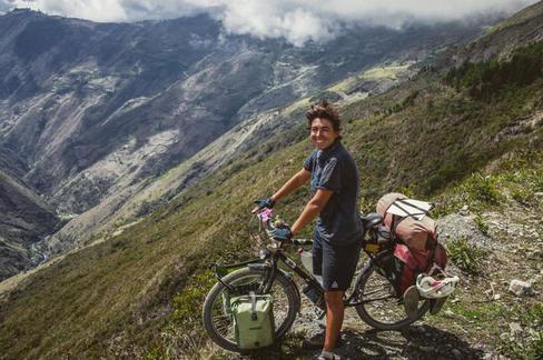 Luisa Rische, 31: Die Journalistin aus Lübeck ist im Mai 2017 mit ihrem Fahrrad aufgebrochen. Ihre Strecke verlief über Skandinavien, Russland, China, Südostasien, Australien und Südamerika.