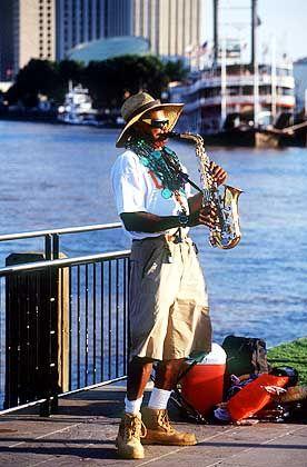 Musik am Fluss