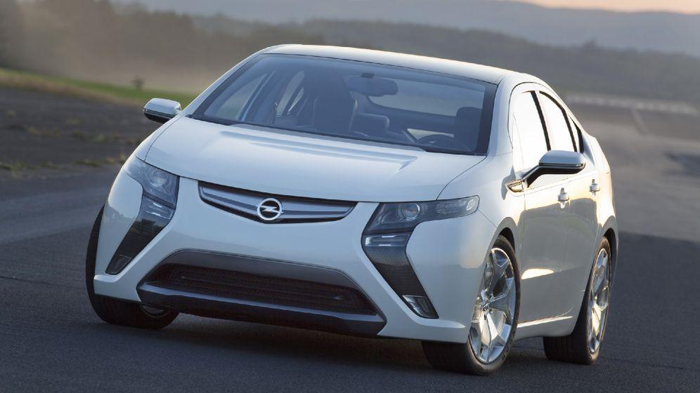 Opel Ampera: Der elektrische Reiter