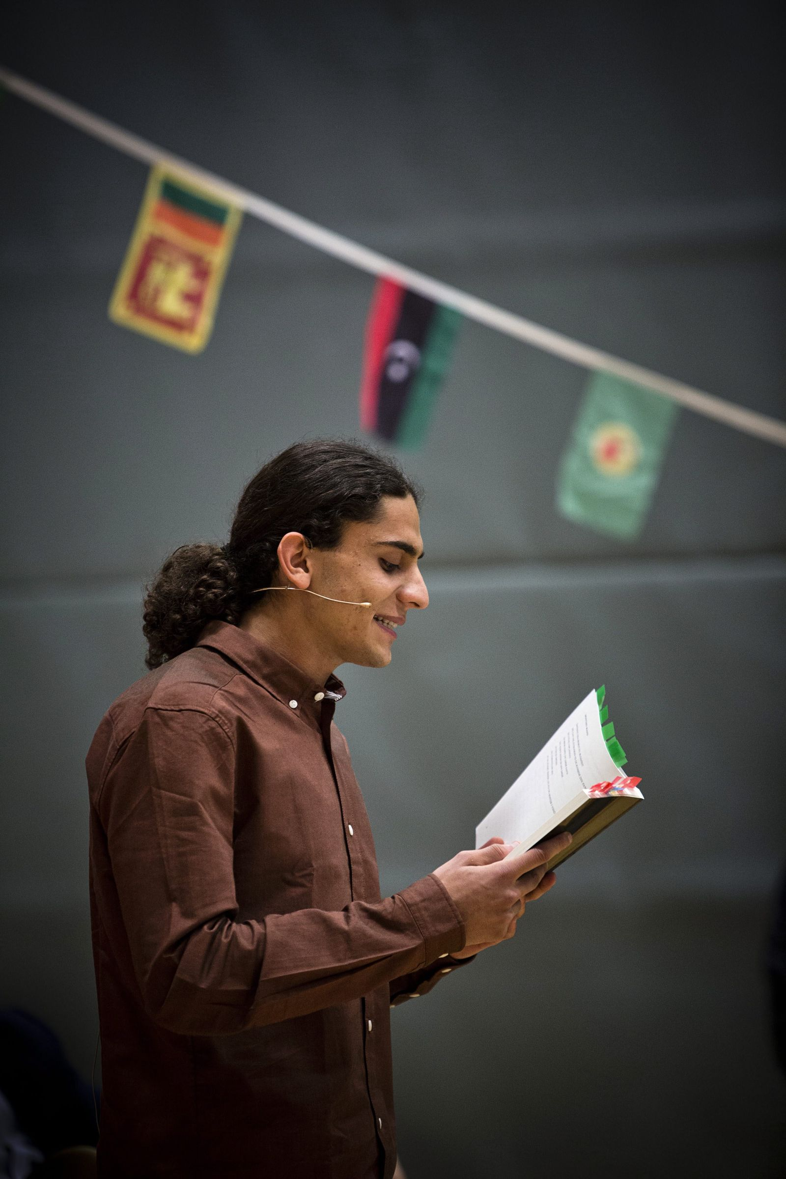 Yahya Hassan reads his poems