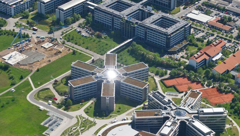 Firmenzentrale von SAP in Walldorf: Chance im weltweiten Kampf um IT-Mitarbeiter