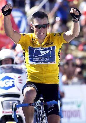 Der beste Radfahrer der Welt: Lance Armstrong auf dem Weg zum vierten Toursieg in Serie