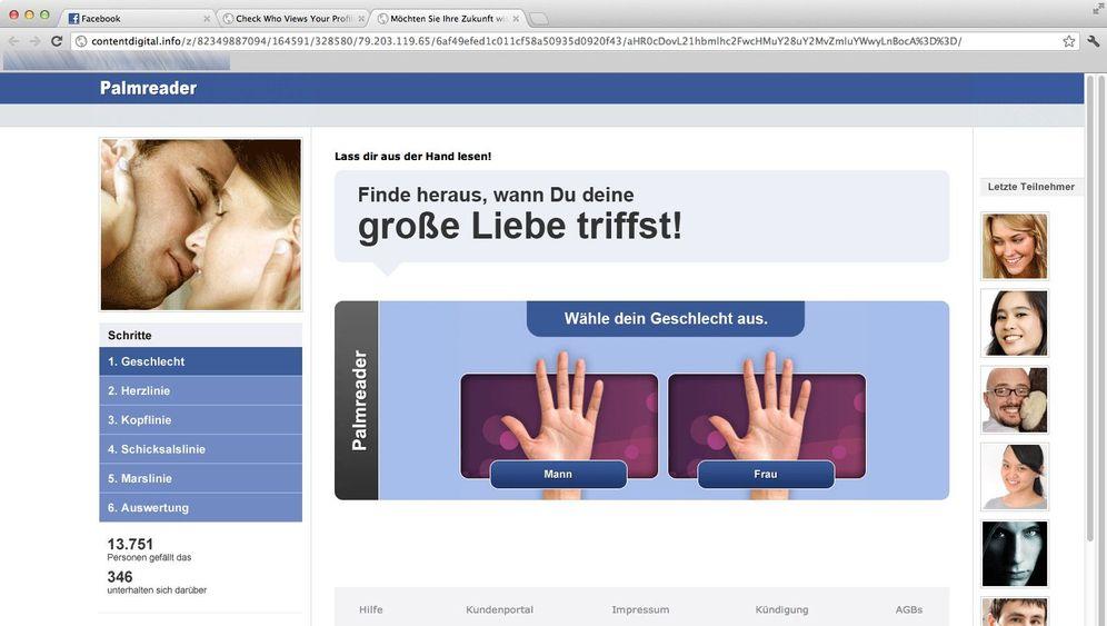 Abzock-Tricks: Typische Facebook-Maschen