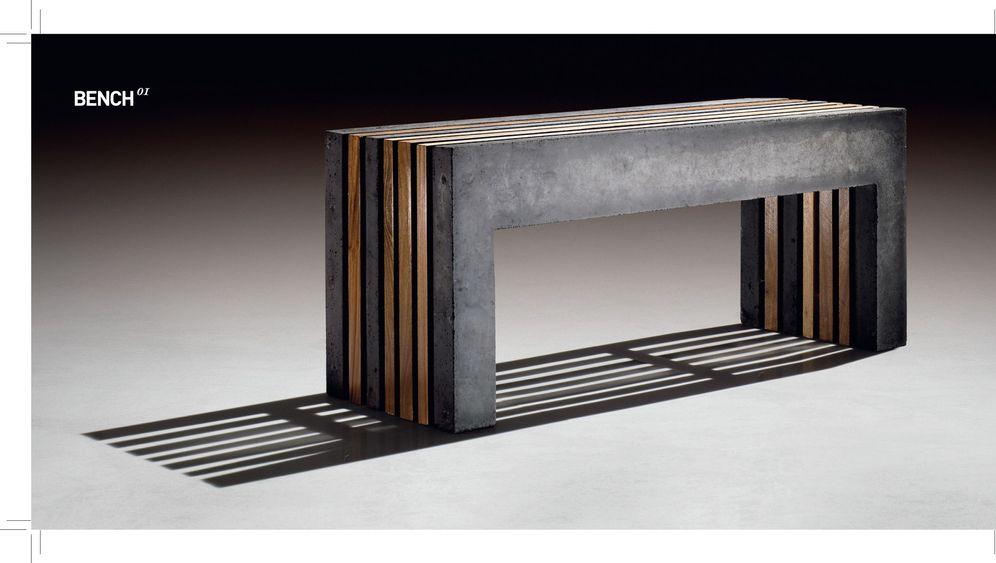 Möbel aus Beton: Vielfalt in Grau