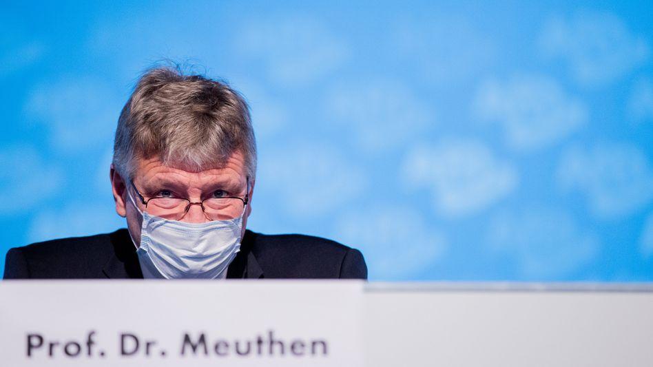 AfD-Co-Chef Jörg Meuthen