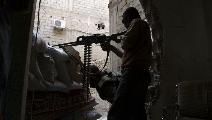 Syrien-Konflikt: Alltag der Aufständischen