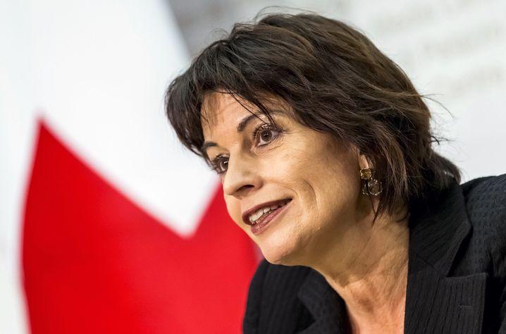 Medienministerin Doris Leuthard