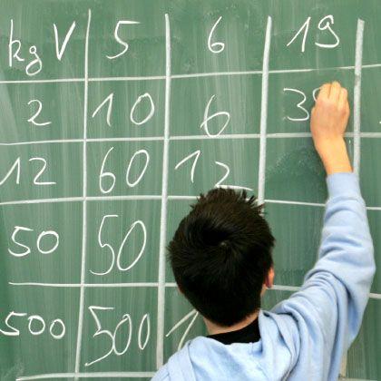 Mathe-Test: Für alle - nur nicht für Hauptschüler