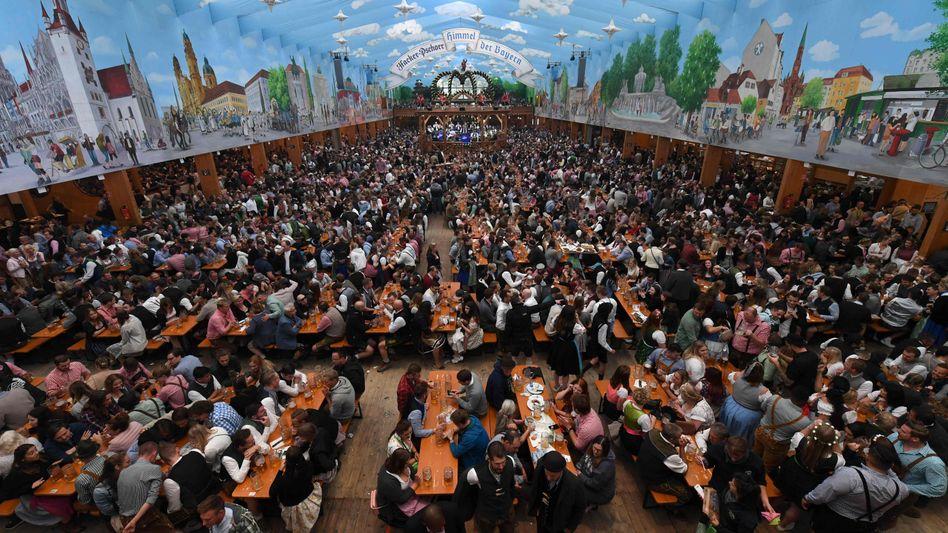 Kein neuer Rekord: 6,3 Millionen Menschen feierten in diesem Jahr auf dem Oktoberfest in München