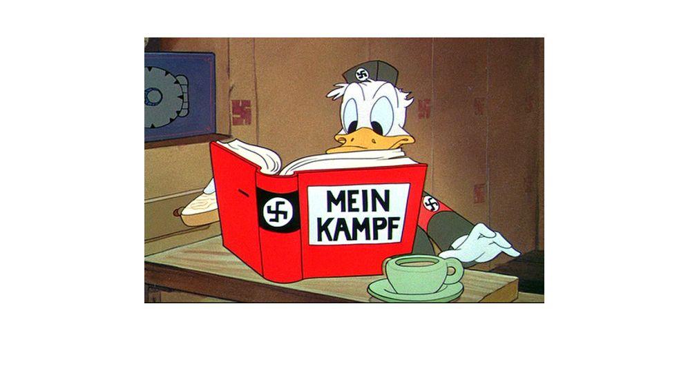 Trickfilm-Propaganda: Donald gegen Hitler