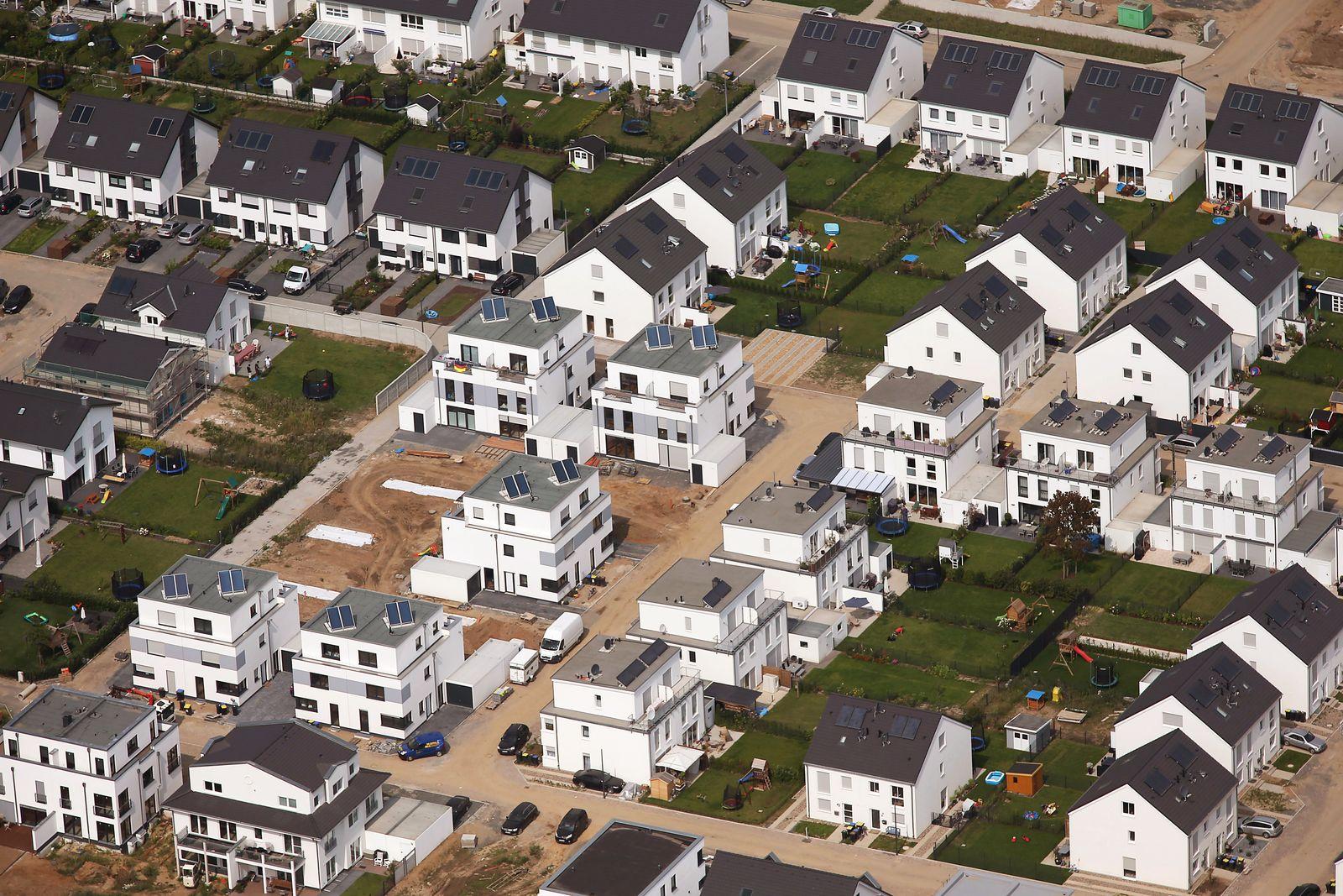Wohnungsbau / Immobilien / Immobilien-Boom / Familienhäuser