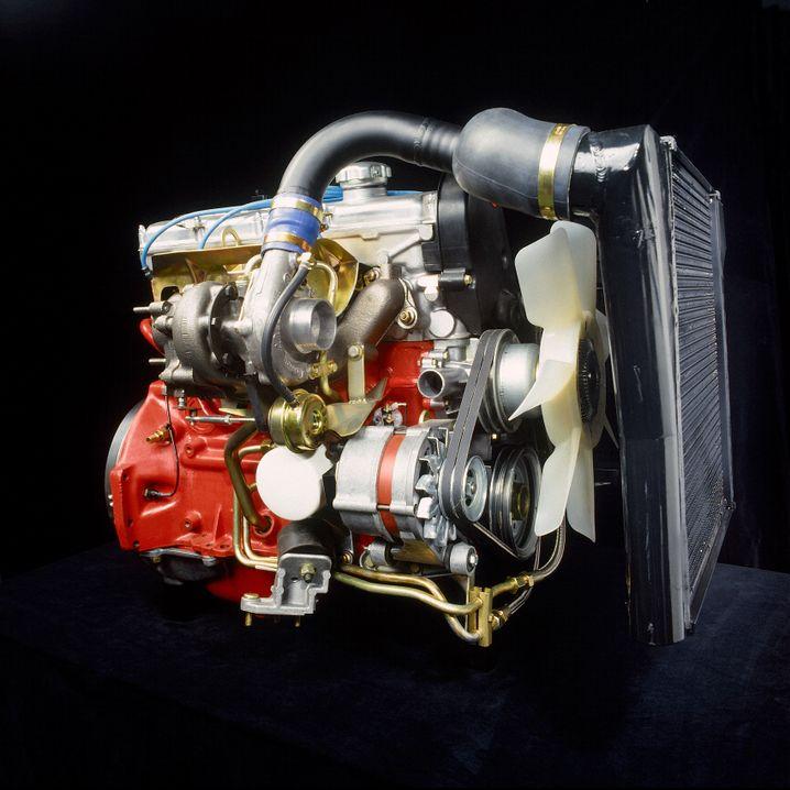Nicht so geile Motorisierungen: V6-Euromotor sowie der Turbodiesel von VW