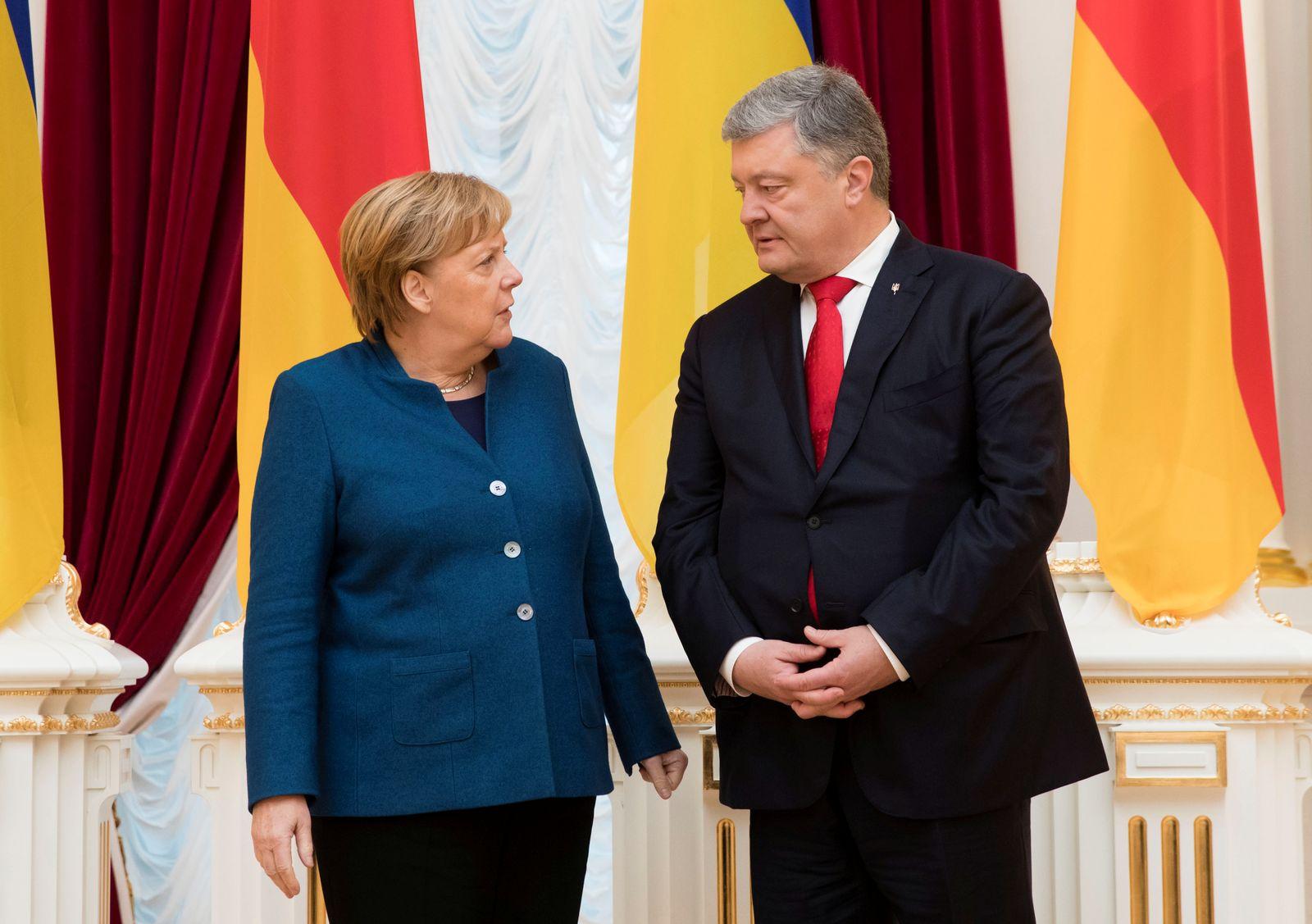 Merkel/ Poroschenko