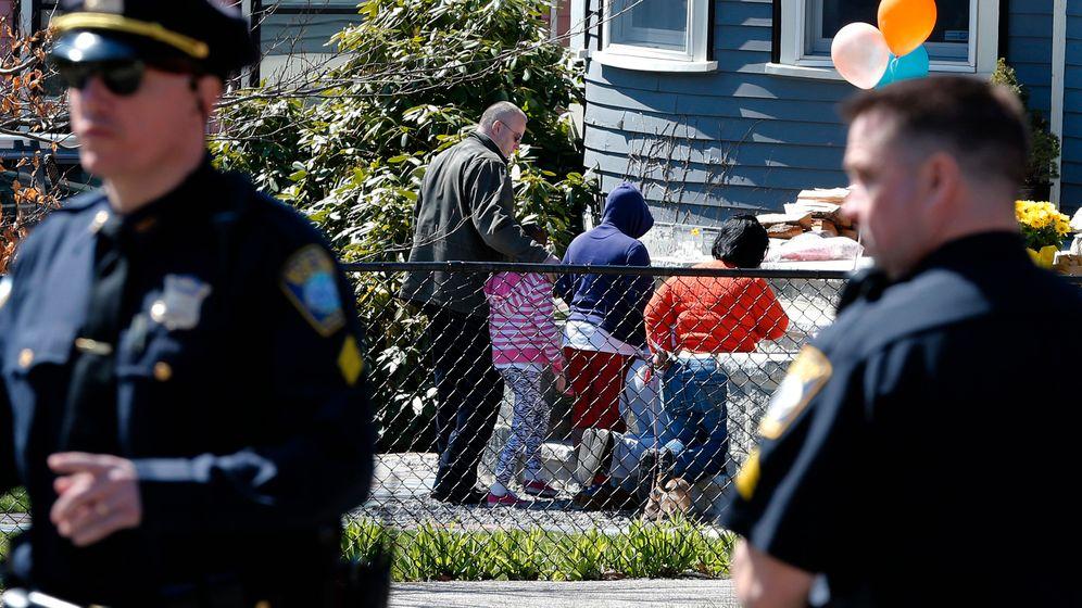Getöteter Achtjähriger: Trauer in Dorchester