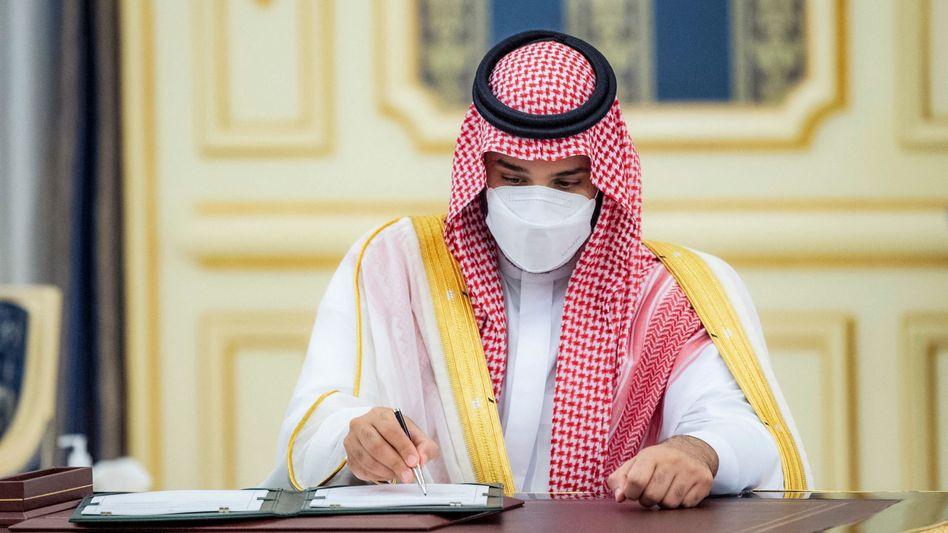 Saudischer Kronprinz Mohammed bin Salman: Treffen mit Katars Emir Scheich Tamim bin Hamad al-Thani – und Erzfeind Iran