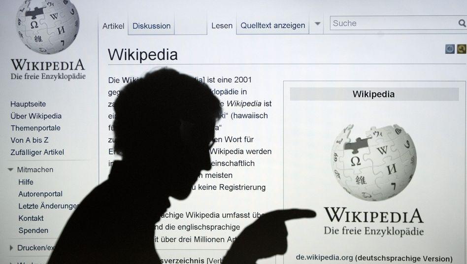 Wikipedia (Symbolfoto): In zehn Jahren zur festen Institution im Web geworden