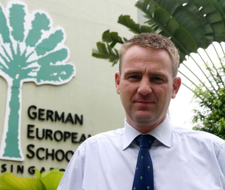 Andre Beinert, 39, unterrichtet Mathe und Physik an der Deutschen Europäischen Schule