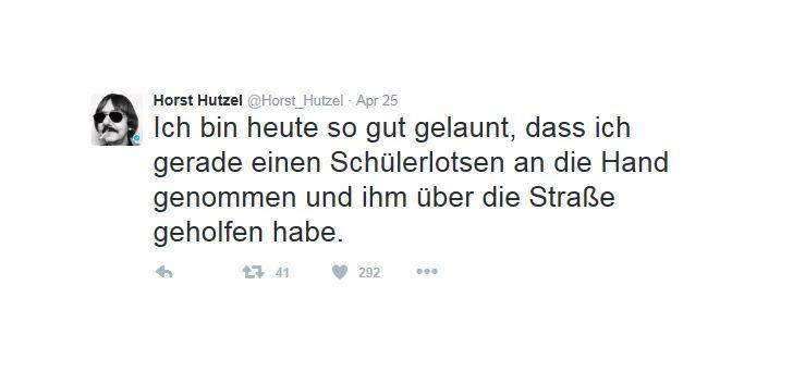 EINMALIGE VERWENDUNG Screenshot Horst Hutzel