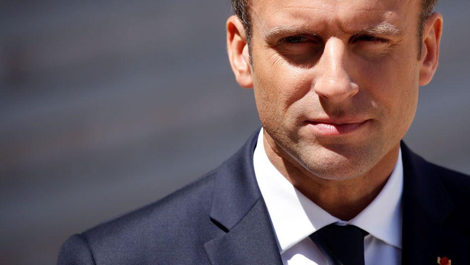 Sozialreformer Macron