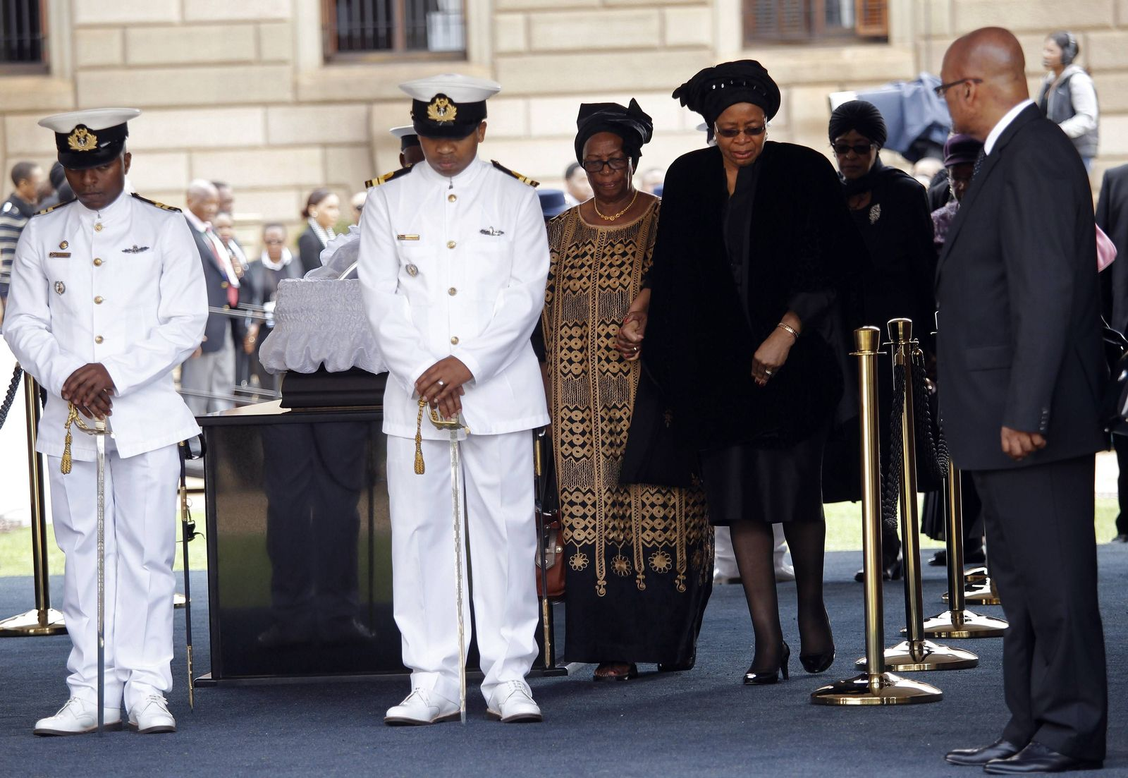Mandela Beerdigung