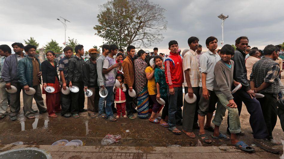Angst vor Nachbeben: Nur noch raus aus Kathmandu