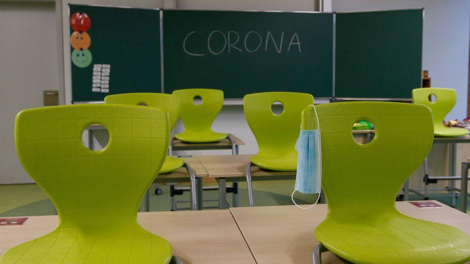 Klassenraum einer Grundschule