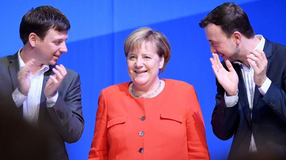 Merkel bei der Jungen Union